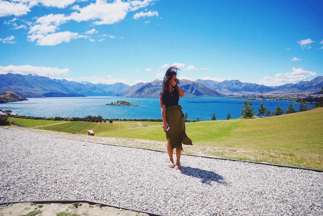 Photo taken at Wanaka, New Zealand